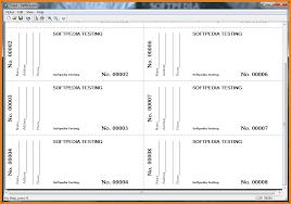 raffle tickets templates