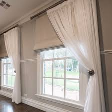 roman blinds and curtains. Brilliant Curtains Roman Blinds  Google Keress Lounge Curtains Sheer Curtains  With Blinds Blinds And Roman Pinterest