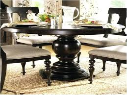 astounding impressing black wood round dining table with leaf charming photo dark and glass solid uk ro