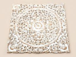 carved wood wall art decor white wash wood carving white wood wall white carved wall decor