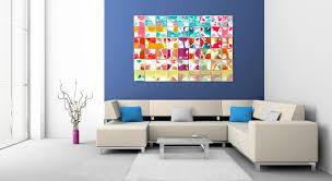 colorful contemporary wall art decor