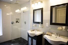 Bathroom Vanity Decorating Bathroom Brown Bathroom Vanities Gray Marbled Floor White