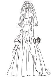 Disegno Di Sposa Da Colorare Disegni Da Colorare E Stampare Gratis