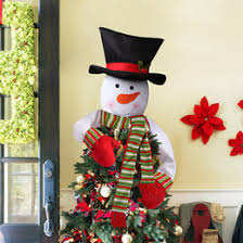 christmas top hat decorations christmas decorations snowman tree hat top star xmas festival party