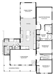 Floor PlanBuckeye With Family Room  Homes Simple House Plans Family Room Floor Plan