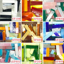 200g mosaic tiles stained glass border