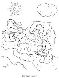 Feel Better Coloring Pages Camelliacottageinfo