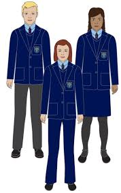 Blue Coat Uniform Bluecoat Wollaton Academy