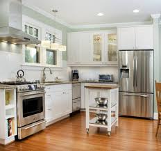 Bamboo Kitchen Flooring Kitchen Fabulous Vinyl Kitchen Flooring Ideas With Brown Cabinets