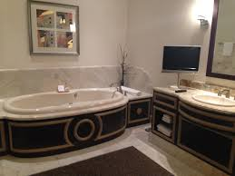 Jacuzzi Tub In One Of The 3 Bathrooms In The Penthouse Suite