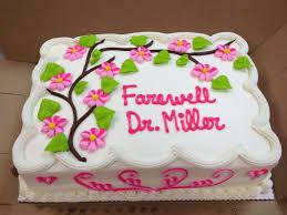 Good Luck Cake Designs Pretty Farewell Cake Birthday Sheet Cakes Sheet Cake