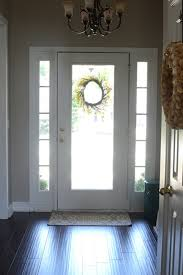 Image Grey The Frugal Homemaker Painting The Inside Of The Front Door Black