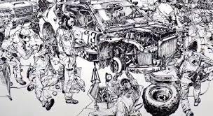 動画akira風の超絶画力なイラストを下描きなしでなぜ描けるのだッ
