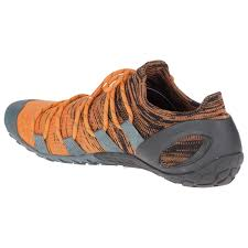 Merrell Vapor Glove 4 3d Trail Running Shoes Olive Drab Lime Punch 47 Eu