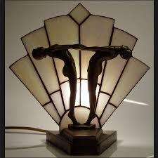 art deco lamp. 82 Best ART DECO Lamps Images On Pinterest | Art Deco Art, Style And Chandeliers Lamp T