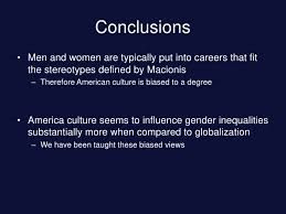 gender inequalities presentation <br > 14