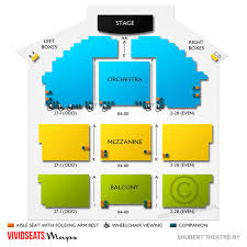 Shubert Theatre Ny Concert Tickets And Seating View Vivid