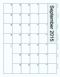 Calendar Blank 2015 Calendar Template Format Printable Yearly Annual Templates