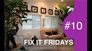 Living Room Makeover UNDER $500 | Interior Design | Fix It Fridays ...
