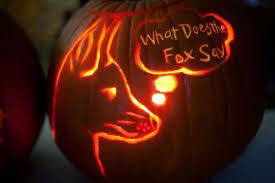 Fox Pumpkin Carving Pattern