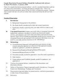 Word Thesis Template Dissertation Proposal Template Sample Thesis Word