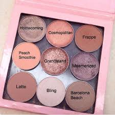 how to apply an eyeshadow step by step tutorial peachy eyeshadowpink eyeshadow palettemakeup geek