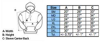 Gildan G200 Size Chart Gildan T Shirts Size Chart Rldm