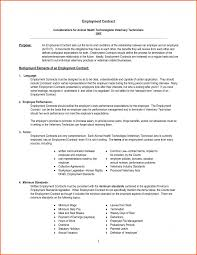 Physician Employment Agreement 24 Lovely Employment Agreement Letter Examples Images Complete 10