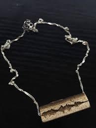cherry oak laser engraved pendant