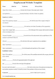 Employee Profile Format Biography Profile Template Chanceinc Co