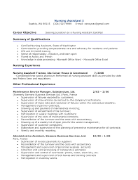 Example Cna Resume Beauteous BistRun Cna Resume Summary Examples Kantosanpo How To Write