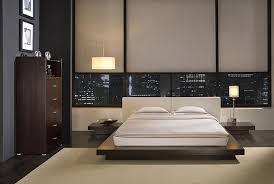 Minimalist Wood Queen Size Bed Frame Design Idea Photo .