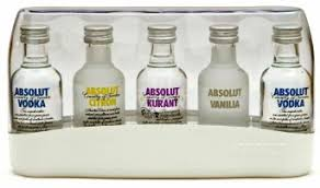 absolut vodka 5 x 5cl miniature gift set in on alibaba