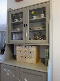 Hutch Kitchen Furniture Kitchen Wooden Kitchen Furniture Hutch With Display Shelves