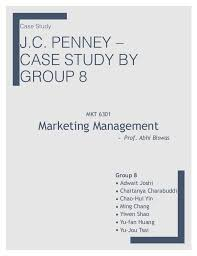 Jcpenney case study      business case study analysis sample     Scribd jack welch harvard study case