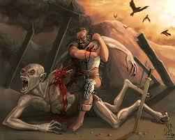 monster creature grendel.  Monster Grendel Beowulf And Monster Creature