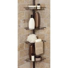 corner shower caddy free standing