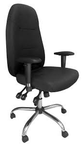 office chair genuine leather white. REGENT 24 Hour Ergonomic Task Operator Office Chair - Available In Genuine Leather White N