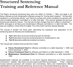 Felony Chart Structured Sentencing Pdf Free Download
