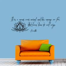 on adhesive wall art sayings with buy buddha sayings wall art and get free shipping on aliexpress