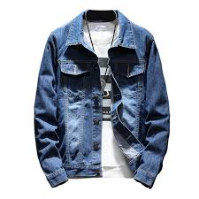 <b>2019 Autumn Winter Men</b> Jean Jacket Clothing Denim Jacket ...