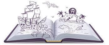 open book adventure treres pirates sailing ships adventure reading fantasy