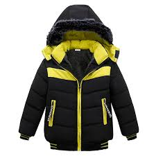 Toddler Baby Boys Jackets 2018 Autumn Winter Jacket For Coat Kids Bomber Children Hooded Warm Cotton Outerwear Coats And