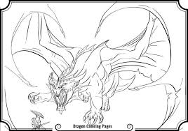 Luxury Of Scary Dragon Coloring Pages Pictures Printable Coloring