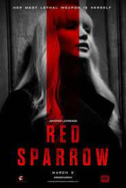 Cinema Release - Red Sparrow - SHV Film & Entertainment | Red sparrow, Red  sparrow movie, Jennifer lawrence red sparrow