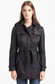 Burberry Brit Kencott Quilted Jacket   Products i Love   Pinterest ... & Burberry Brit 'Finsbridge' Belted Quilted Jacket available at #Nordstrom Adamdwight.com