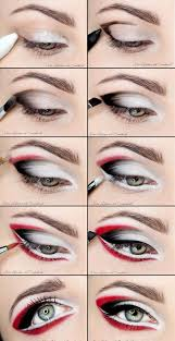makeup ideas for prom diy red and black eye makeup these are the best
