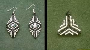Beaded Earring Patterns For Beginners Custom Design Inspiration