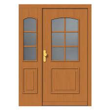 traditional panel entry door