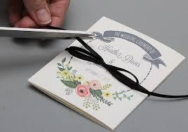Wedding Booklet Template Diy Tutorial Free Printable Ceremony Booklet Boho